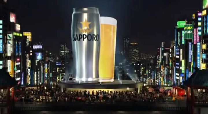 Transpórtate a Japón probando Sapporo con tu pedido de sushi (vídeo)